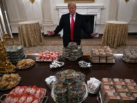 The Best Memes About President Trump's Burger Buffet