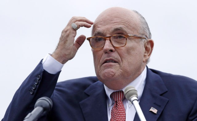 Giuliani cancels trip to Ukraine, denounces 'enemies' of the United States  in Kiev