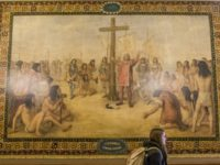 Notre Dame Will Cover Columbus Murals over Portrayal of Native Americans