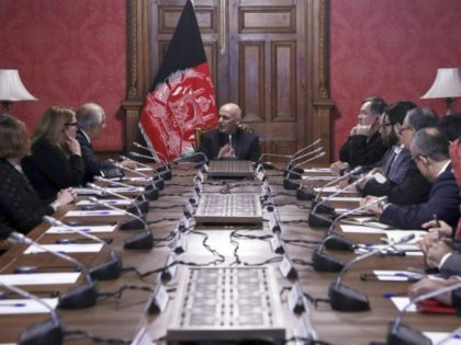 Ashraf Ghani, Zalmay Khalilzad