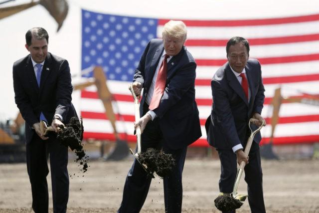 Donald Trump, Scott Walker, Terry Gou