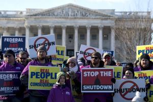 Shutdown is longest in U.S. history; Congress leaves D.C.