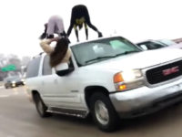 WATCH: Women Caught 'Twerking' atop SUV Traveling Down Highway