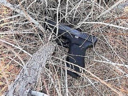 Yuma Sector Border Patrol agents apprehend an armed human smuggler near San Luis, Arizona. (Photo: U.S. Border Patrol/Yuma Sector)