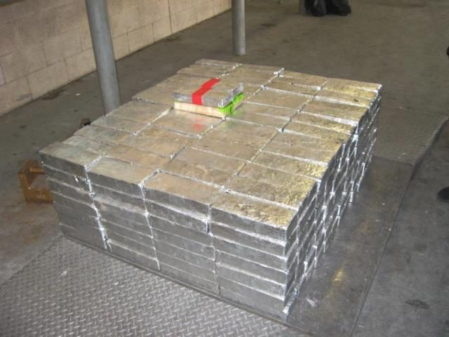 CBP Officers seize $14 million in methamphetamine at the Pharr International Bridge in South Texas. (Photo: U.S. Customs and Border Protection/Rio Grande Valley Sector)