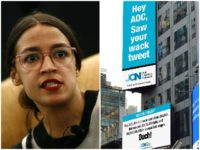 Job Creators Network Fires Back at Alexandria Ocasio-Cortez with Two More Times Square Billboards