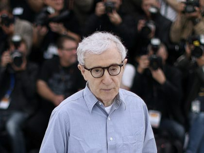 (FILES) In this file photo taken on May 11, 2016 US director Woody Allen poses during a photocall for the film 'Cafe Society' ahead of the opening of the 69th Cannes Film Festival in Cannes, southern France. - Filmmaker Woody Allen has filed a $68 million suit against Amazon for …