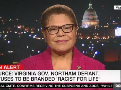 Dem Rep. Karen Bass on CNN, 2/5/2019