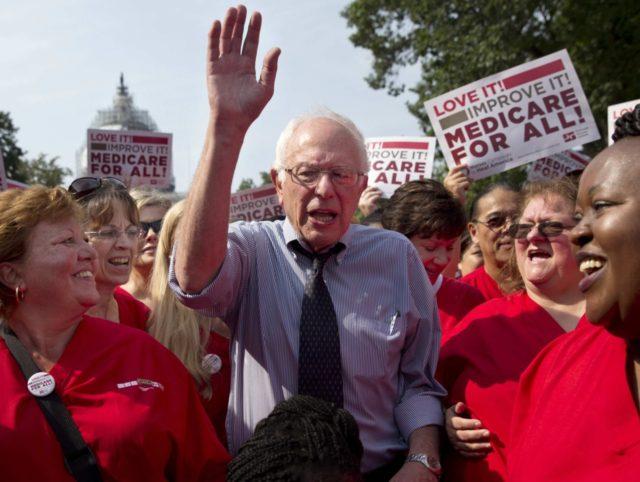 Bernie Sanders Medicare for All (Jacquelyn Martin / Associated Press)