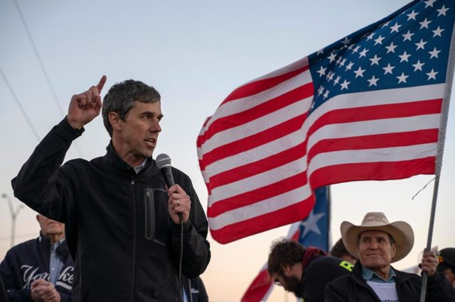 "Former Rep. Robert Francis ""Beto"" O'Rourke (D-TX), the failed 2018 Senate Democrat nominee in Texas, said in an interview with MSNBC's Chris Hayes at the border that he would tear down existing border wall along the U.S. border with Mexico."
