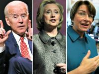 Report: Hillary Clinton Met with Biden, Klobuchar About 2020