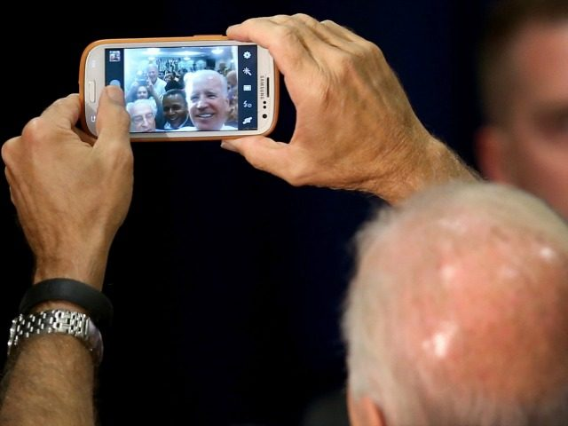 Biden Selfie Getty