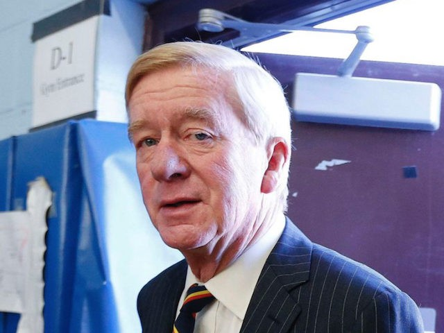 Former Massachusetts Gov. Bill Weld on Nov. 8, 2016. (AP Photo/Michael Dwyer)