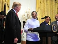 First Woman Freed by Criminal Justice Reform Thanks Donald Trump at Black History Month Reception