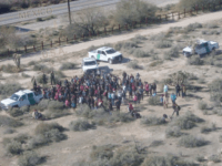 Tucson Sector Border Patrol agents apprehend 325 migrants near Lukeville, Arizona. (Photo: U.S. Border Patrol/Tucson Sector)