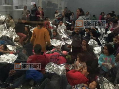 EXCLUSIVE: Leaked Photos Show U.S. Border Facility Overwhelmed by Migrants
