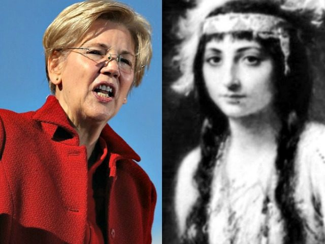 Elizabeth Warren, Pocahontas.Painting of Pocahontas around the time of her wedding to John Rolfe. Three Lions:Getty Imagesjpg