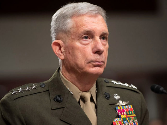 Commander of the US Africa Command, General Thomas Waldhauser, testifies during a US Senate Armed Services Committee hearing on Capitol Hill in Washington, DC, February 7, 2019.