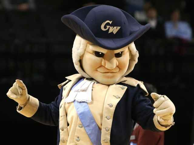 George Washington University Colonials Mascot