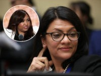 (INSET: Lynne Patton) WASHINGTON, DC - FEBRUARY 27: Rep. Rashida Tlaib (D-MI) listens to Michael Cohen, former attorney and fixer for President Donald Trump, testify before the House Oversight Committee on Capitol Hill February 27, 2019 in Washington, DC. Last year Cohen was sentenced to three years in prison and …