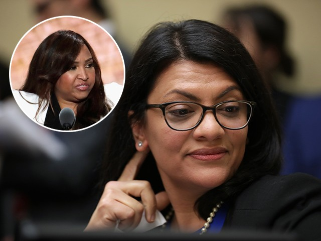 Rashida Tlaib Suggests Mark Meadows 'Racist' for Inviting 'Prop' Lynne Patton