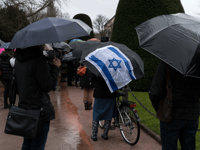 People take part in a slient march in Strasbourg, eastern France on March 28, 2018, in memory of Mireille Knoll, an 85-year-old Jewish woman murdered in her home in what police believe was an anti-Semitic attack. - The partly burned body of Mireille Knoll, who escaped the mass deportation of …