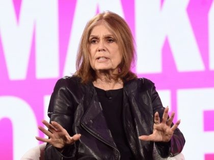 DANA POINT, CA - FEBRUARY 06: Gloria Steinem speaks onstage during The 2019 MAKERS Conference at Monarch Beach Resort on February 6, 2019 in Dana Point, California. (Photo by Vivien Killilea/Getty Images for MAKERS)