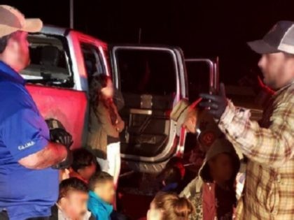 Human Smuggling Stop in Laredo Sector