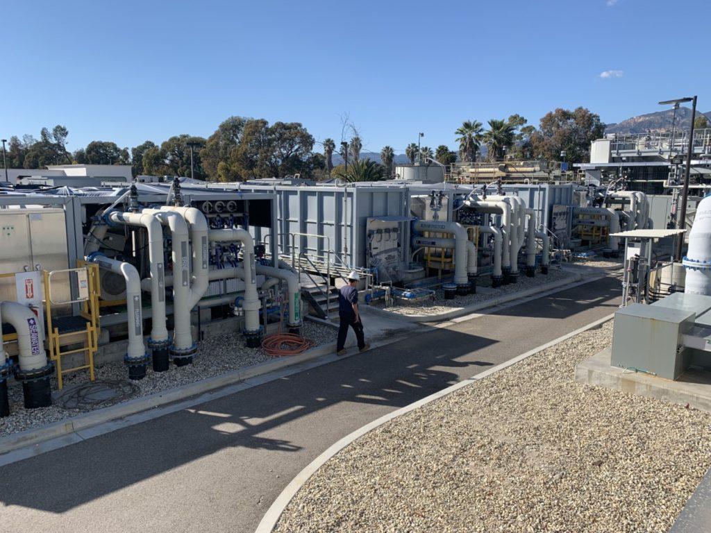 Charles E. Meyer Desalination Plant (Joel Pollak / Breitbart News)