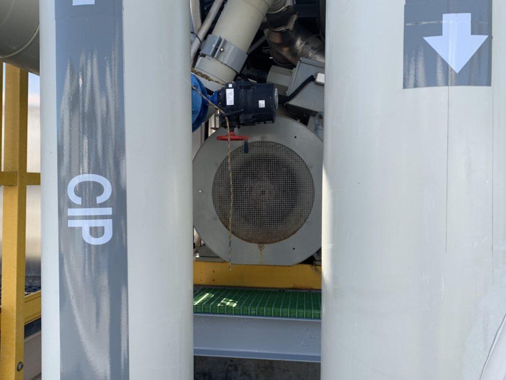Charles E. Meyer Desalination Plant Pump (Joel Pollak / Breitbart News)