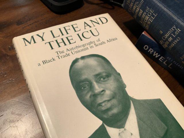 Clements Kadalie autobiography (Joel Pollak / Breitbart News)