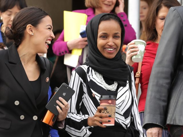 Ilhan Omar smile (Chip Somodevilla / Getty)