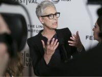 "Co-Executive Producer Jamie Lee Curtis attends a screening of ""Hondros"" at Cinépolis Chelsea, during the 2017 Tribeca Film Festival, on Friday, April 21, 2017, in New York. (Photo by Brent N. Clarke/Invision/AP)"