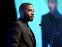 JUNE 06: Actor Jussie Smollett speaks onstage during the Global Green USA 19th Annual Millennium Awards on June 6, 2015 in Century City, California. (Photo by Rachel Murray/Getty Images for GLOBAL GREEN USA)