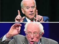 Joe Biden, Bernie SandersAP