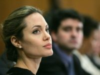 WASHINGTON - NOVEMBER 17: Actress Angelina Jolie takes part in a press conference on Capitol Hill November 17, 2005 in Washington, DC. Jolie was in Washington to help bring attention to the United Nations Millennium Development Goals and to help call for full funding of the new Assistance for Orphans …