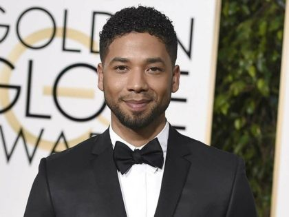 Jussie Smollett arrives at the 73rd annual Golden Globe Awards on Sunday, Jan. 10, 2016, at the Beverly Hilton Hotel in Beverly Hills, Calif. (Photo by Jordan Strauss/Invision/AP)
