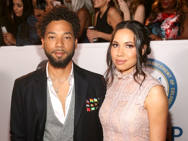 PASADENA, CA - JANUARY 15: Jussie Smollett (L) and Jurnee Smollett-Bell attend the 49th NAACP Image Awards at Pasadena Civic Auditorium on January 15, 2018 in Pasadena, California. (Photo by Jesse Grant/Getty Images for NAACP )