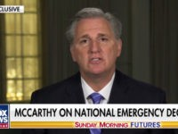 McCarthy: Trump Has Authority to Declare Emergency — 'Thousands of Americans Are Dying'