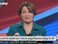 Klobuchar: I Don't Support Free Four-Year College