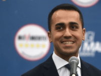 Italy's populist Five Star Movement (M5S) party leader Luigi Di Maio, addresses journalists a day after Italy's general elections, on March 5, 2018 in Rome. The anti-establishment Five Star Movement and the far-right euro-sceptic League party were the big winners of the election, which laid bare widespread anger over immigration …