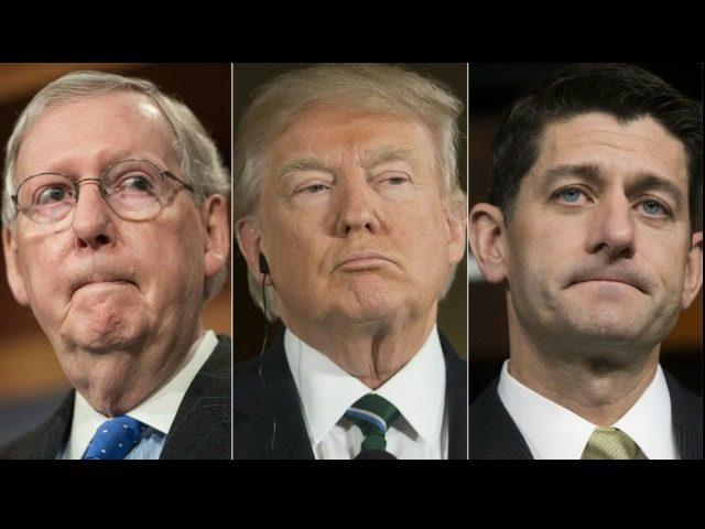 McConnell, Trump, Ryan