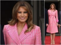 Melania in Fendi