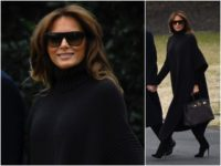 Fashion Notes: Melania Trump Struts in Monochromatic Italian Luxury