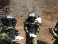 Mex Army Explosive device