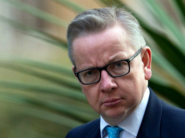 LONDON, ENGLAND - MARCH 22: Secretary of State for Justice Michael Gove arrives for the weekly cabinet meeting chaired by British Prime Minister David Cameron at Number 10 Downing Street on March 22, 2016 in London, England. Today is the first cabinet meeting since Iain Duncan Smith was replaced by …
