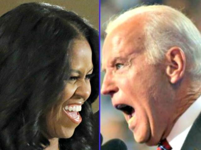 Poll: Michelle Obama, Joe Biden Top Contenders for 2020 Democrat Nomination