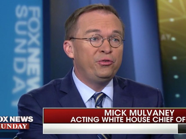 Mulvaney: 'The President Is Going to Build the Wall'