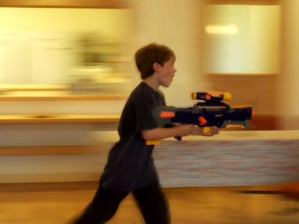 Nerf gun sprinter