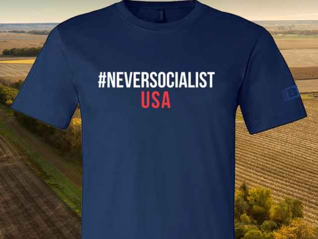 #NeversocialistUSA Shirt